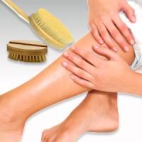 Los beneficios del cepillado en la piel seca.